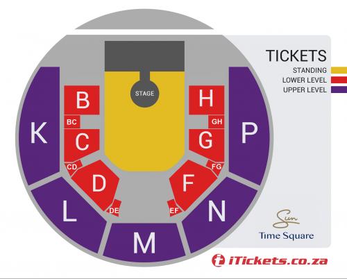 Order for Jo Black & Roan Ash - LIVE in die Sun Arena